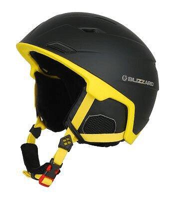 Černo-žlutá lyžařská helma Blizzard - velikost 60-62 cm