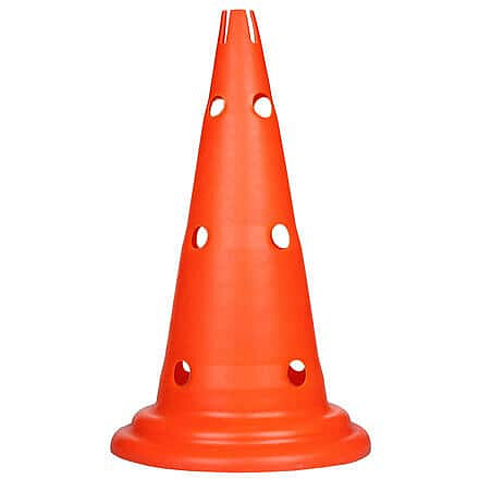 Oranžový tréninkový kužel Merco - 1 ks