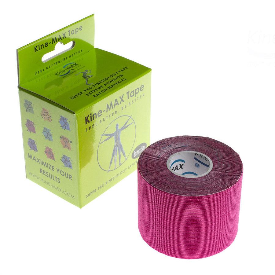 Růžová tejpovací páska kine-max - délka 5 m a šířka 5 cm