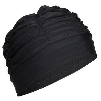 Černá pánská nebo dámská plavecká čepice Nabaiji