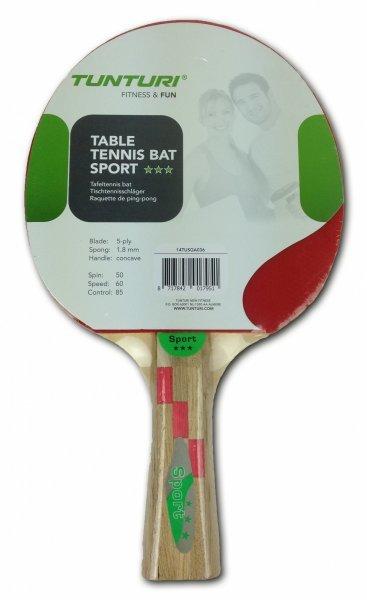 Pálka na stolní tenis Bat Sport, Tunturi