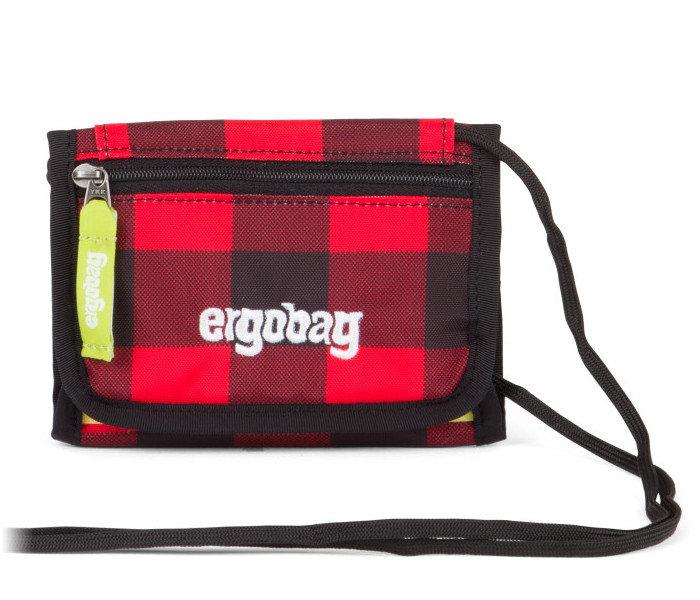 Peněženka - Ergobag Peněženka červeno-černá
