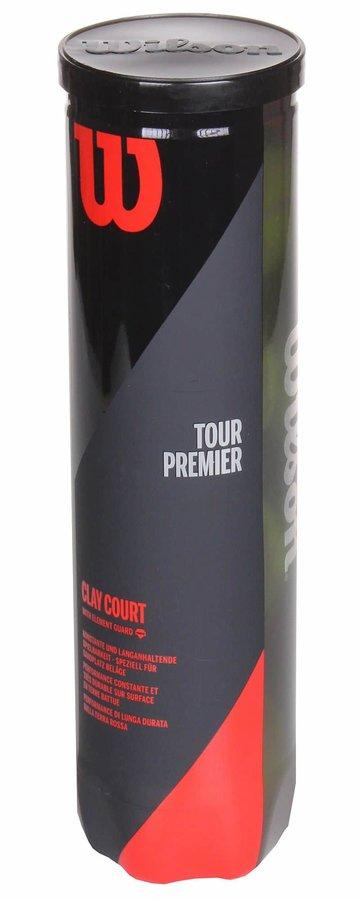 Tenisový míček - Tour Premier Clay tenisové míče balení: 4 ks