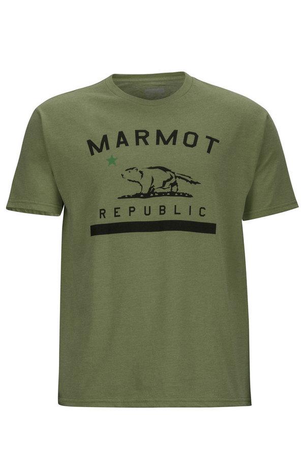 Pánské tričko s krátkým rukávem Marmot