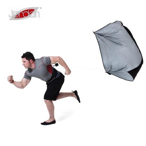 Černý tréninkový brzdící padák Jordan