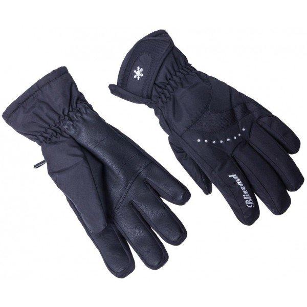 Černé dámské lyžařské rukavice Blizzard - velikost 6
