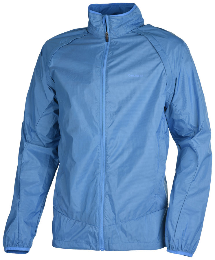 Modrá pánská turistická bunda Husky - velikost M