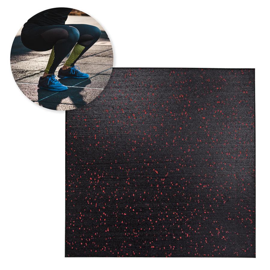 Černá zátěžová podložka inSPORTline - tloušťka 15 mm