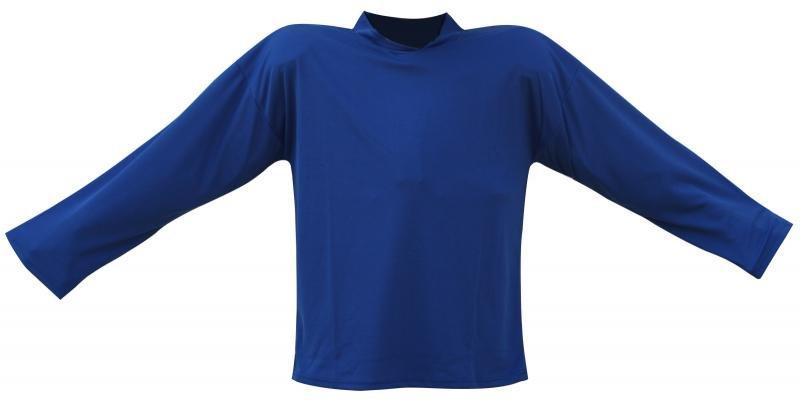 Modrý hokejový dres - velikost S