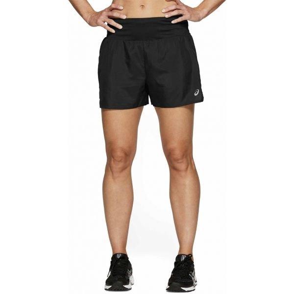 Černé dámské běžecké kraťasy Asics
