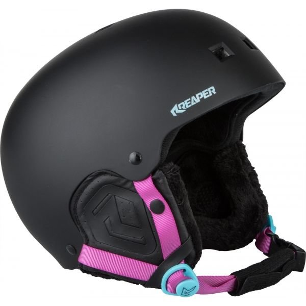 Černá dámská helma na snowboard Reaper