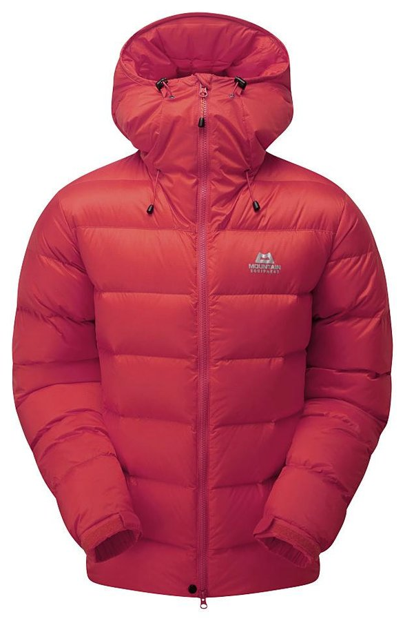Červená zimní pánská turistická bunda Mountain Equipment