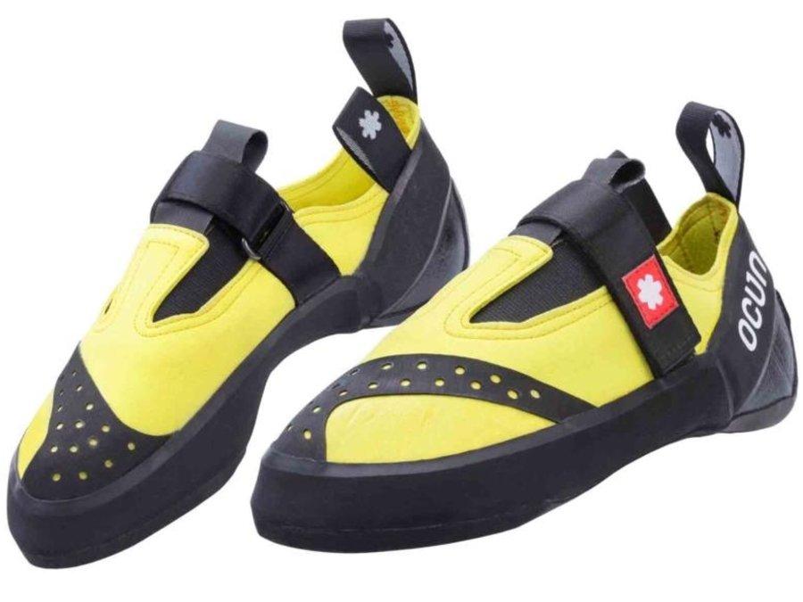 Černo-žluté lezečky Crest QC, Ocún - velikost 47 EU
