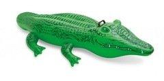 Zelené dětské nafukovací lehátko INTEX - délka 168 cm a šířka 86 cm