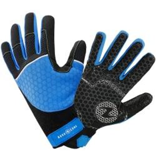 Černo-modré pánské neoprenové rukavice Velocity, Aqualung