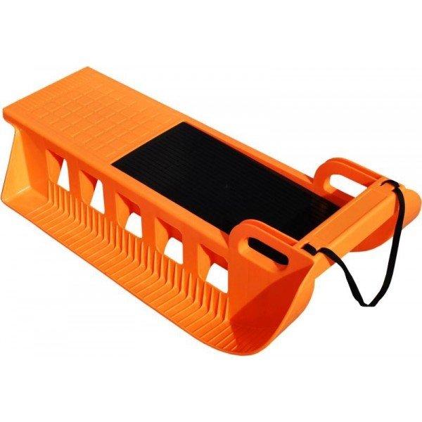 Oranžové plastové dětské sáňky Sport Team