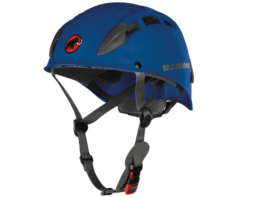 Modrá horolezecká helma Skywalker 2, Mammut - velikost 53-61 cm