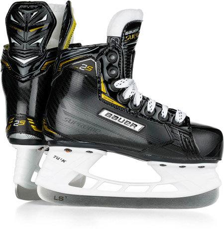 Chlapecké hokejové brusle Supreme 2S, Bauer - velikost 32 EU a šířka EE