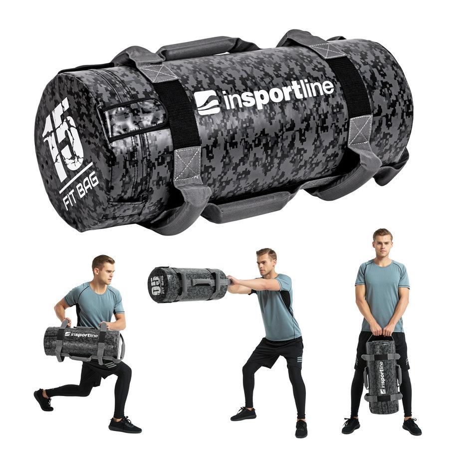 Posilovací vak Fitbag Camu, Insportline - 15 kg