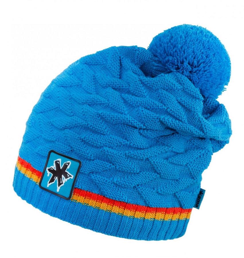 Modrá dámská zimní čepice Kama