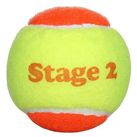 Tenisový míček - Stage 2 Orange dětské tenisové míče, měkké balení: 1 ks