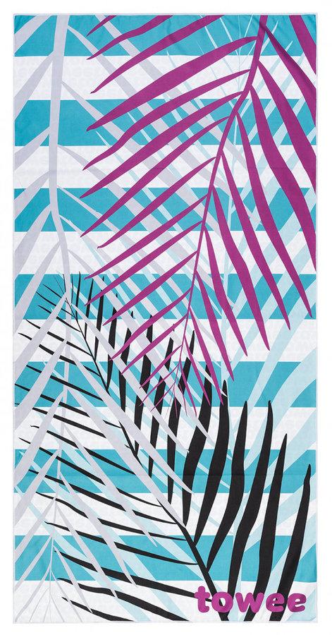 Ručník - Rychleschnoucí ručník Towee Palms Pink 70 x 140 cm