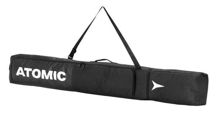 Bílo-černý vak na lyže pro 1 pár Atomic - délka 195 cm