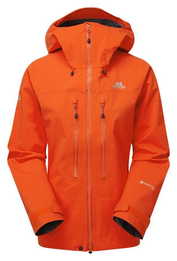 Oranžová dámská turistická bunda Mountain Equipment