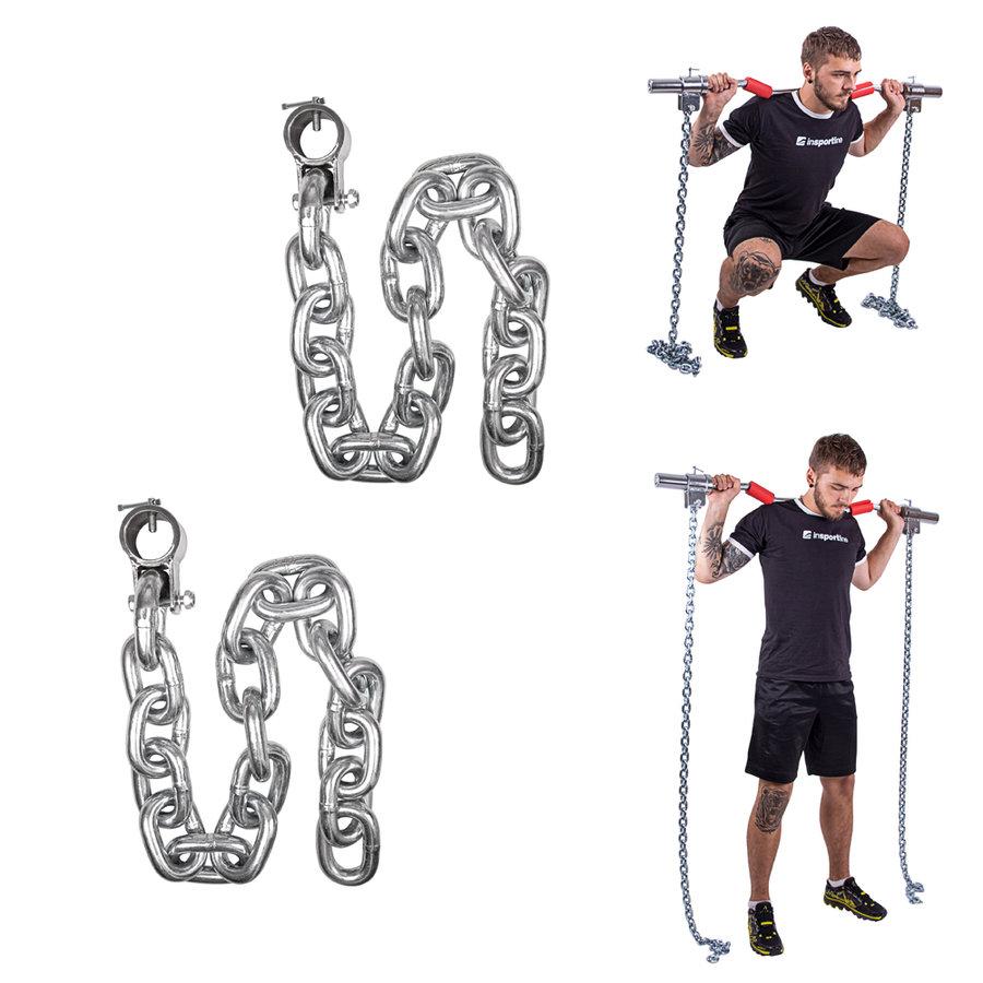 Vzpěračský řetěz inSPORTline - 30 kg - 2 ks