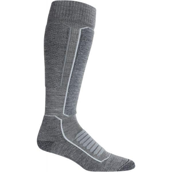 Šedé pánské lyžařské ponožky Icebreaker