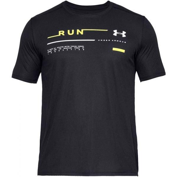 Černé pánské běžecké tričko Under Armour