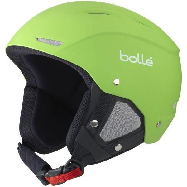 Zelená lyžařská helma Bollé