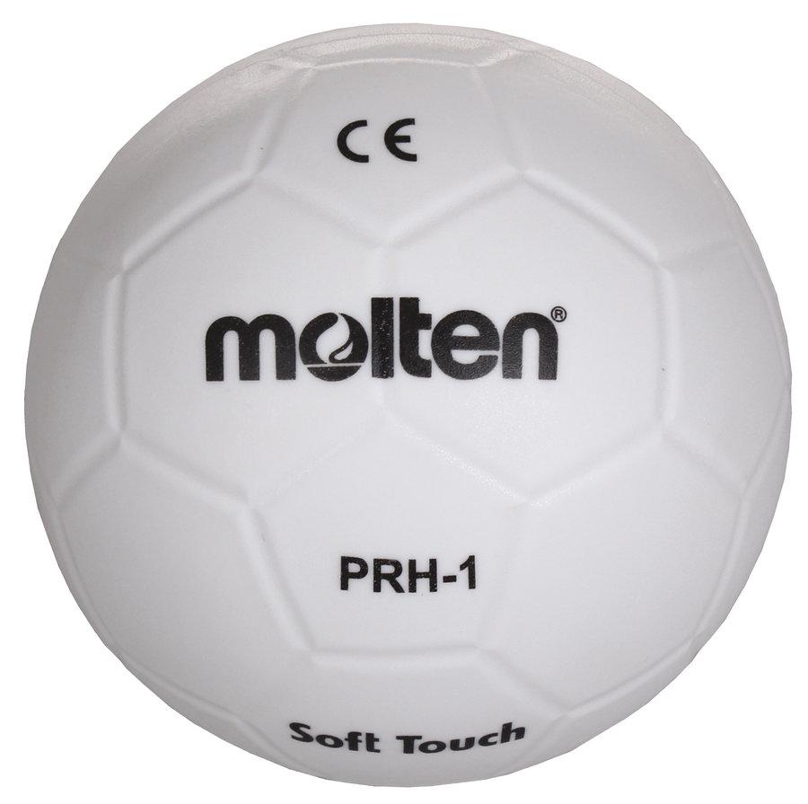 Bílý míč na házenou PRH-1, Molten - velikost 1
