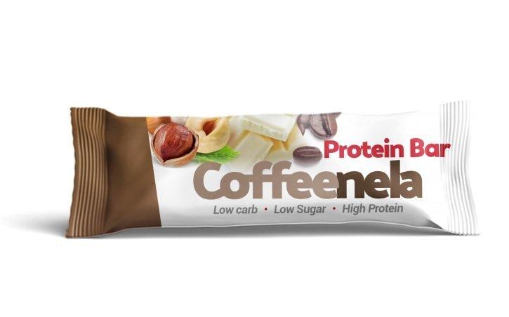 Proteinová tyčinka - Czech Virus Coffeenela Protein Bar 45g