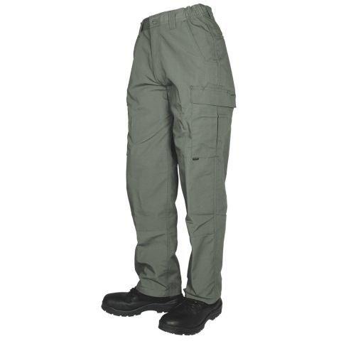 Kalhoty - Kalhoty 24-7 TACTICAL CARGO rip-stop ZELENÉ