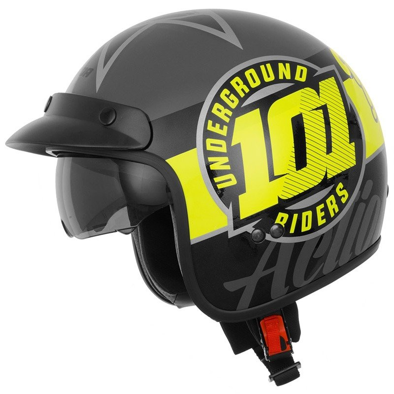 Unisex helma na motorku Cassida