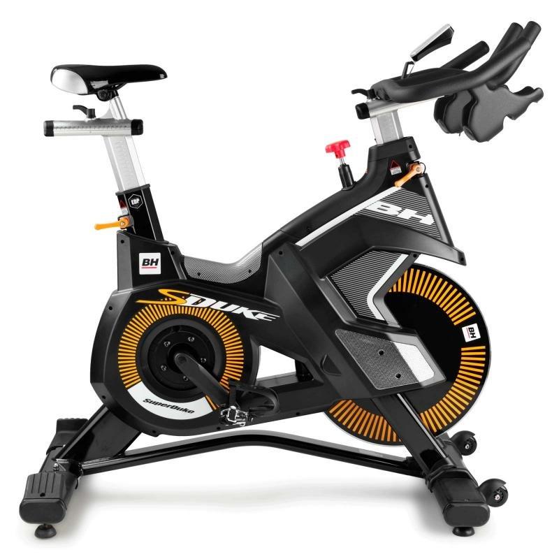 Třecí cyklotrenažér Super Duke, BH Fitness - nosnost 130 kg