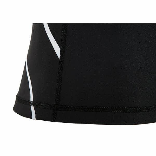 Bílo-černý rashguard Bushido - velikost L
