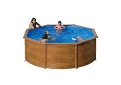 Nadzemní kruhový bazén GRE - výška 120 cm