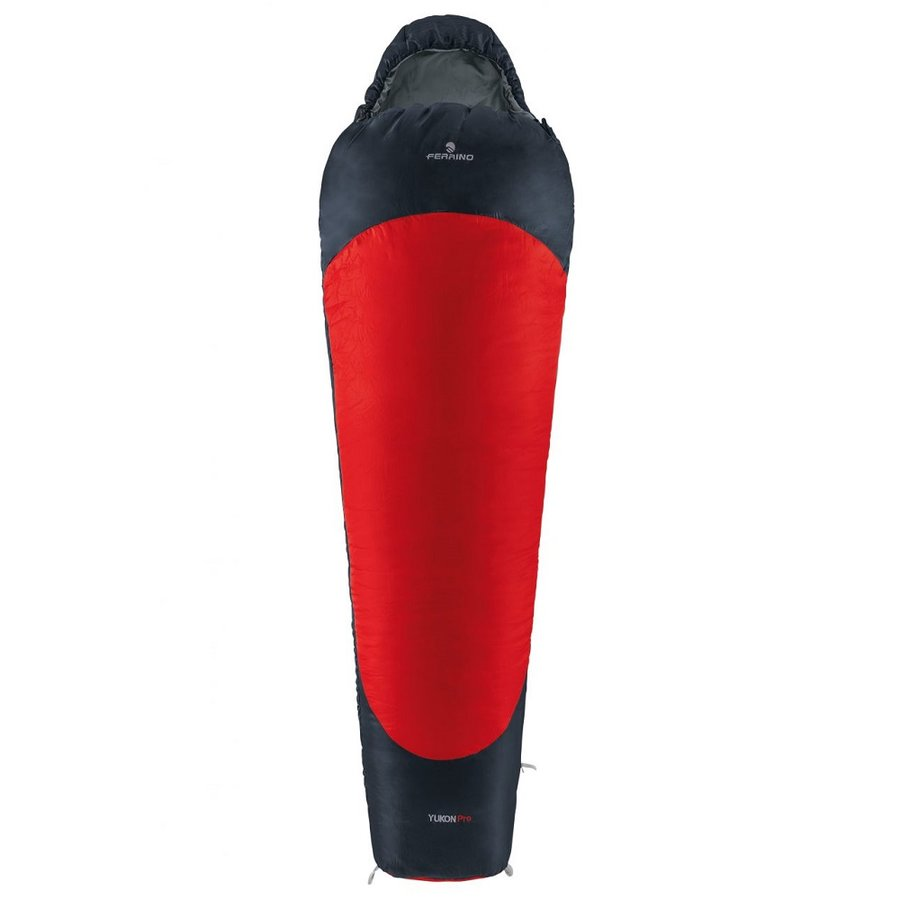Červený spací pytel Ferrino - délka 230 cm