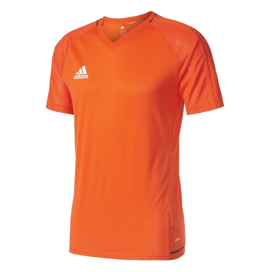 Oranžový fotbalový dres Tiro17, Adidas - velikost XXL