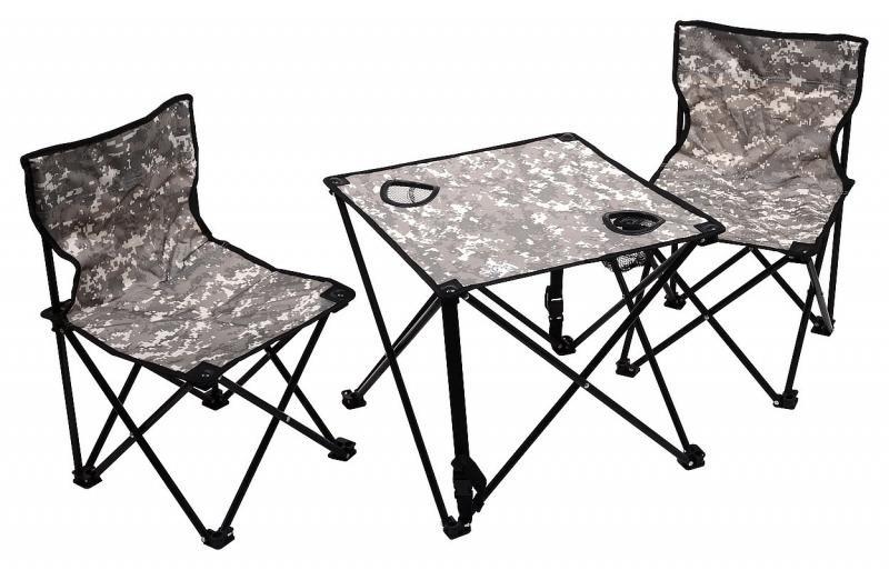 Kempingová sada nábytku Cattara 1x stůl, 2x židle