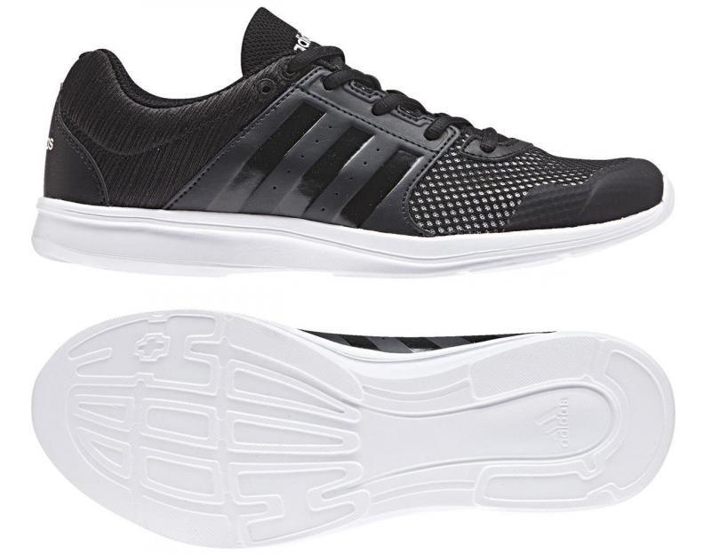 Černé dámské fitness boty Adidas - velikost 36,5 EU