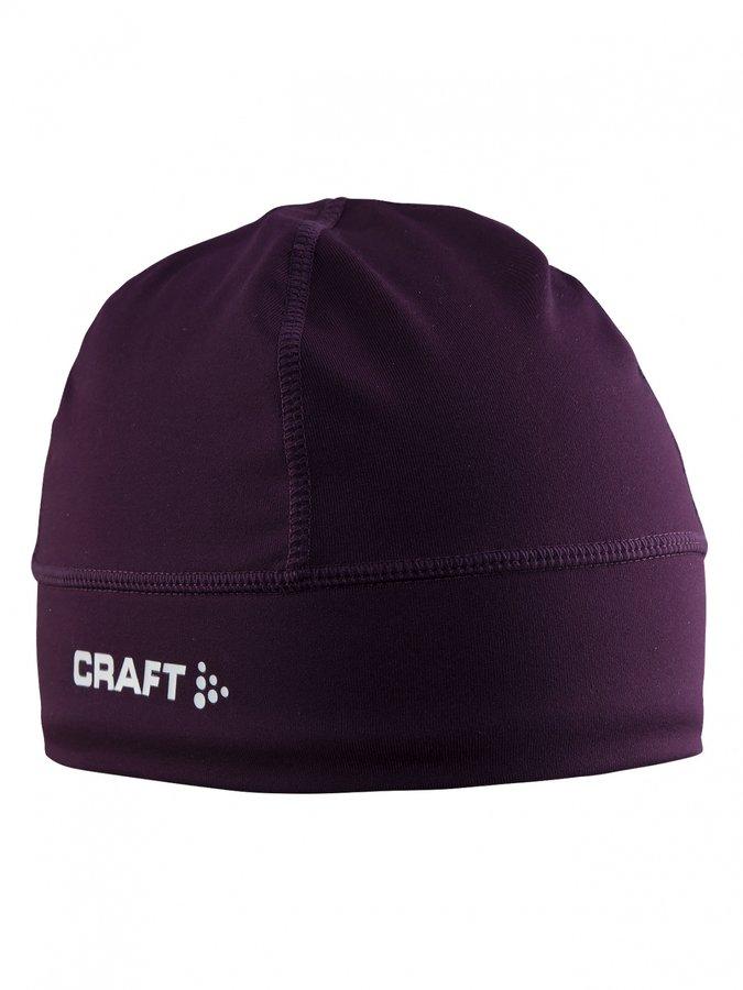 Červená zimní čepice Craft - velikost S-M