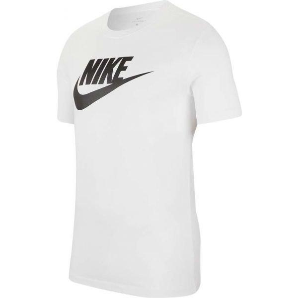 Bílé pánské tričko s krátkým rukávem Nike - velikost L