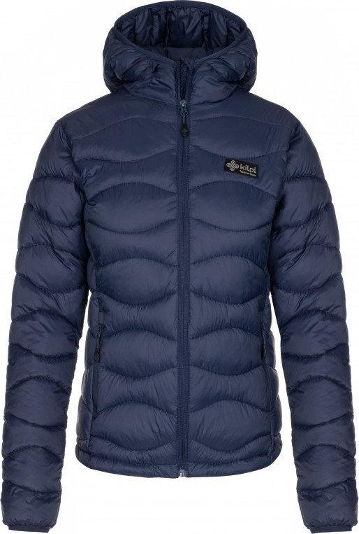 Modrá zimní dámská bunda s kapucí Kilpi