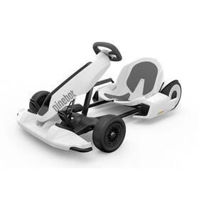 Bílé dětské elektrické autíčko GoKart Kit, Ninebot
