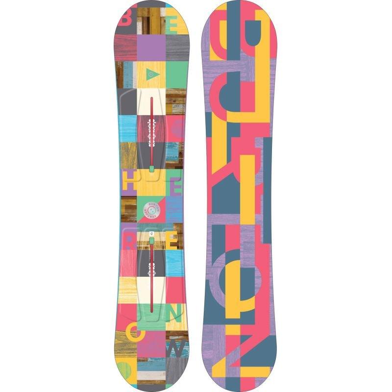 Snowboard bez vázání Burton - délka 144 cm