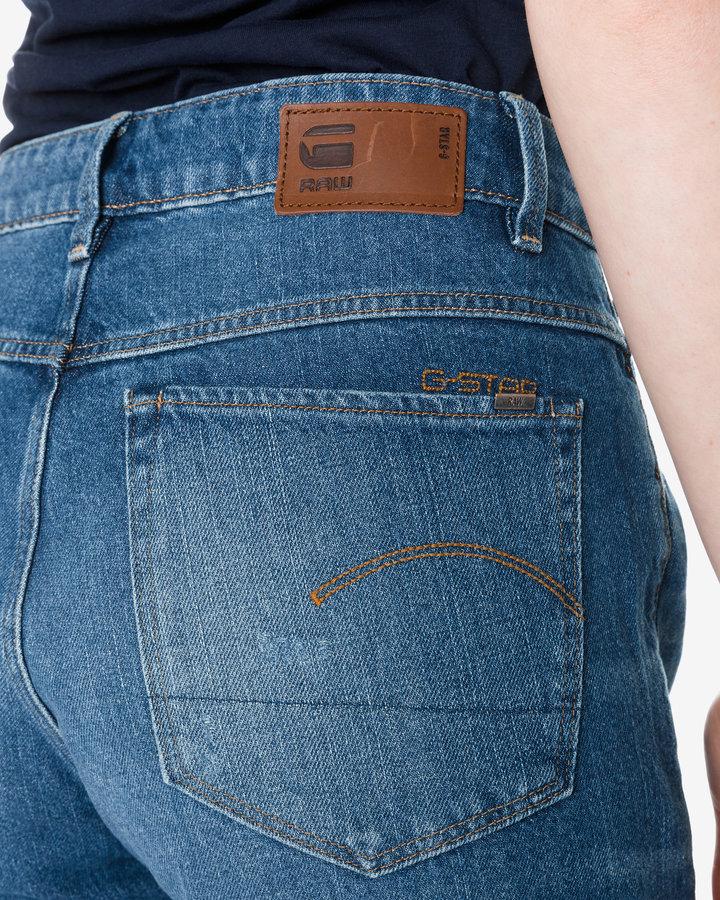 Modré dámské džíny G-Star RAW - velikost 26