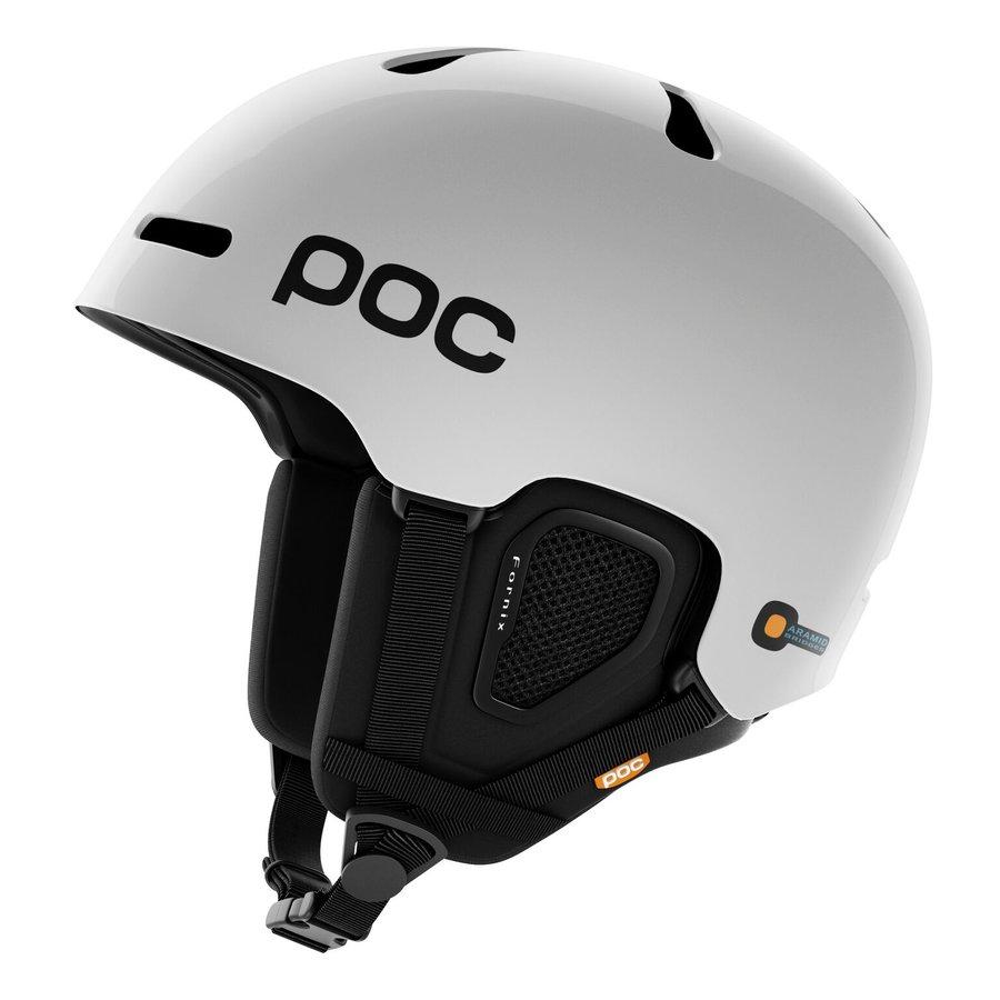 Bílá lyžařská helma POC